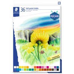 STAEDTLER Soft-Pastellkreide Design Journey, 36er Kartonetui