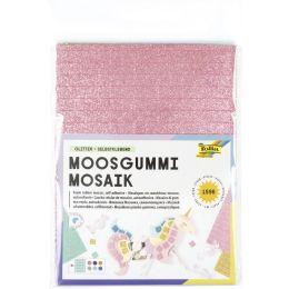 folia Moosgummi-Mosaik Glitter, selbstklebend, 1.596 Teile