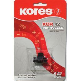 Kores Farbrolle für EPSON IR78, schwarz und rot