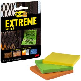 Post-it Haftnotizen Extreme Notes, 76 x 76 mm, 3er Pack