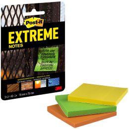 Post-it Haftnotizen Extreme Notes, 76 x 76 mm, 3er Pack