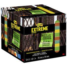 Post-it Haftnotizen Extreme Notes, 76 x 76 mm, 12er Pack