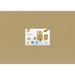 folia Kraftkarton, 230 g/qm, 500 x 700 mm, 25 Blatt