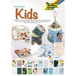 folia Motivblock Kids, 240 x 340 mm, 20 Blatt