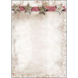 sigel Weihnachts-Motiv-Papier Winter Chalet, A4, 90 g/qm