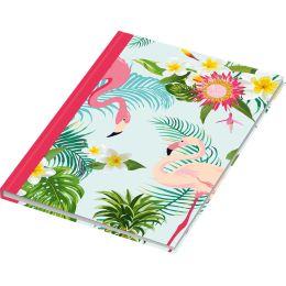 RNK Verlag Notizbuch Flamingo pink, DIN A5, dotted