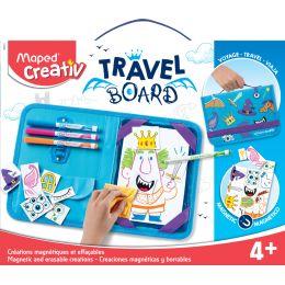 Maped Creativ Reisemalset TRAVEL BOARD, 21-teilig