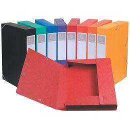 EXACOMPTA Sammelbox Cartobox, DIN A4, 40 mm, blau