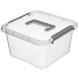 keeeper Aufbewahrungsbox/Clipbox Larissa, mit Griff, 6 Liter