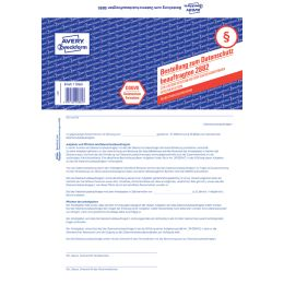 AVERY Zweckform Formular Datenschutzbeauftragter