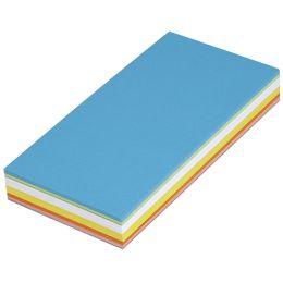 MAUL Moderationskarten, rechteckig, 205 x 95 mm, 120 Stück