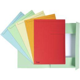 EXACOMPTA Aktenmappe, DIN A4, Karton, pastellgelb