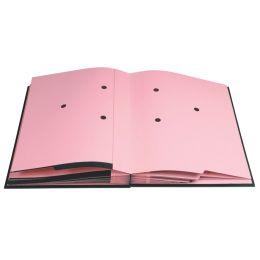 EXACOMPTA Unterschriftenmappe, DIN A4, 12 Fächer, bordeaux