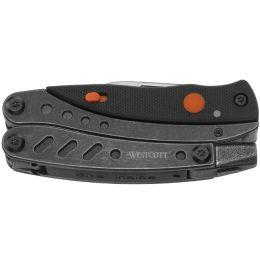 WESTCOTT Multitool 6 Werkzeuge in 1, einklappbar