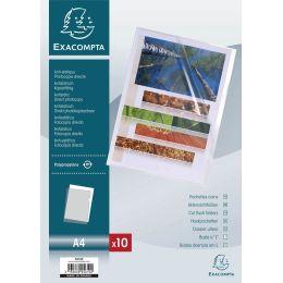 EXACOMPTA Sichthülle, DIN A4, PP 0,12 mm, glasklar
