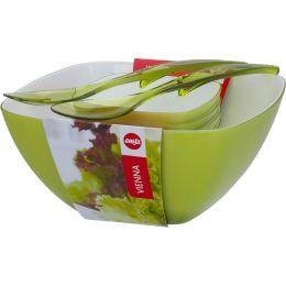 emsa Salat-Set VIENNA, 6-teilig, Kunststoff, hellgrün