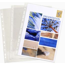 EXACOMPTA Prospekthülle, DIN A4, PVC, glasklar transparent