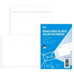 MAILmedia Briefumschlag Offset weiß, DL, ohne Fenster