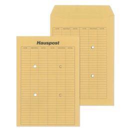 MAILmedia Hauspost-Versandtasche, braun, B4, ungummiert