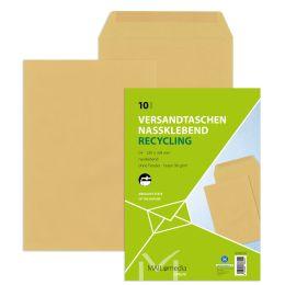 MAILmedia Versandtasche Natron braun, C4, ohne Fenster