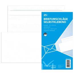 MAILmedia Briefumschlag Offset weiß, Kompakt, ohne Fenster