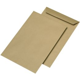 MAILmedia Versandtaschen B5 naßklebend, ohne Fenster,90 g/qm