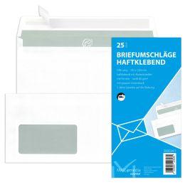 MAILmedia Briefumschlag Offset weiß, DIN Lang, mit Fenster