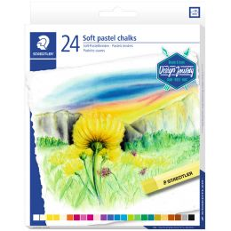 STAEDTLER Soft-Pastellkreide Design Journey, 24er Kartonetui