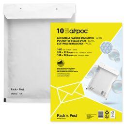 MAILmedia Luftpolster-Versandtaschen, Typ 12/B, weiß, 8 g