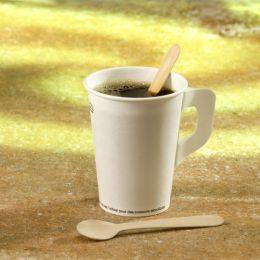 PAPSTAR Holz-Kaffeelöffel pure, Länge: 110 mm, 100er