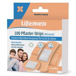 Lifemed Pflaster-Strips Allround, hautfarben, 100er