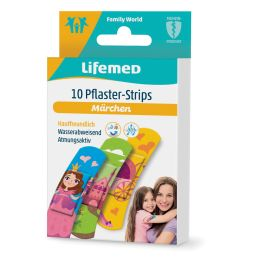 Lifemed Kinder-Pflaster-Strips Märchen, 10er