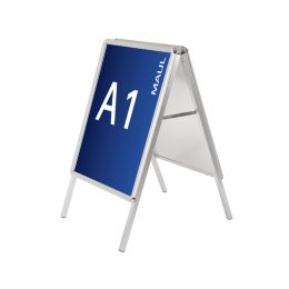 MAUL Plakatständer, DIN A1 - 575 x 820 mm, 2 Klapprahmen