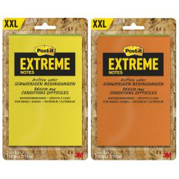 Post-it Haftnotizen Extreme Notes, 114 x 171 mm, 2er Pack