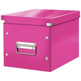 LEITZ Ablagebox Click & Store WOW Cube M, pink