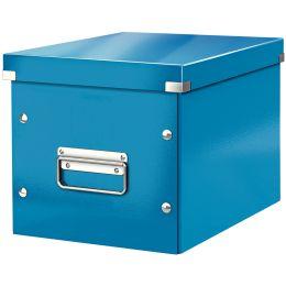 LEITZ Ablagebox Click & Store WOW Cube M, blau