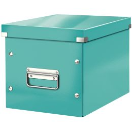 LEITZ Ablagebox Click & Store WOW Cube M, eisblau