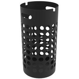 UNiLUX Schirmständer SLIM, aus Kunststoff, schwarz