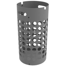UNiLUX Schirmständer SLIM, aus Kunststoff, grau
