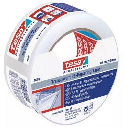 tesa Folienband 4668 MDPE, 50 mm x 33 m, transparent