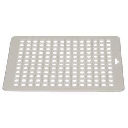 ok Spülbeckenmatte, eckig, (B)315 x (T)265 mm, weiß