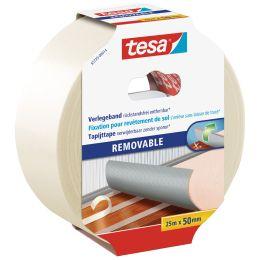 tesa Verlegeband, rückstandsfrei entfernbar, 50 mm x 25 m