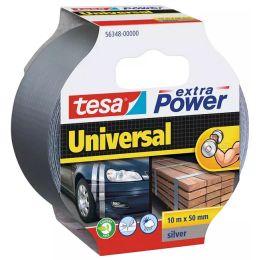 tesa Folienband extra Power Universal, 50 mm x 10 m, silber