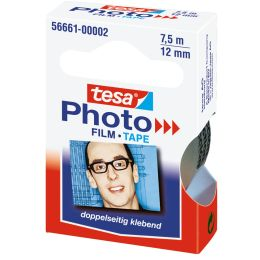 tesa Photo Film, 12 mm x 7,5 m, transparent, Nachfüllpackung