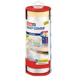 tesa Abdeckfolie Easy Cover Premium, 2.600 mm x 17 m