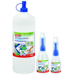 tesa ecoLogo Vielzweckkleber, in Kunststoff-Flasche, 100 g