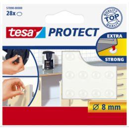 tesa Protect Lärm-/Rutschstopper, rund, Durchmesser: 8 mm