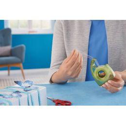 tesa ecoLogo Easy Cut Handabroller, grün, unbestückt