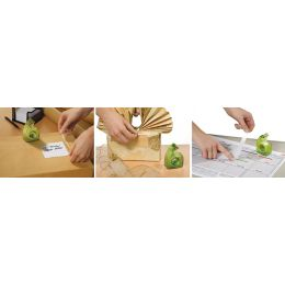 tesa ecoLogo Easy Cut Handabroller, grün, unbestück