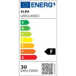ALBA LED-Deckenfluter CLASSIC, schwarz